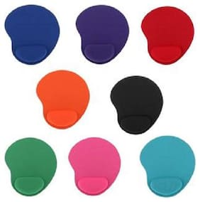 CAPSLOCK Gel Mouse Pad with Wrist Rest Assorted