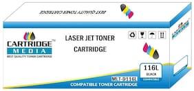 CARTRIDGE MEDIA 116S Compatible for Samsung MLT-D116S Black Laserjet Toner Cartridge for Samsung Laser Printers Samsung Xpress SL-M2625 SL-M2626 SL M2675 SL-M2676 SL-M2825 SL-M2826 SL-M2875 SL-M2876