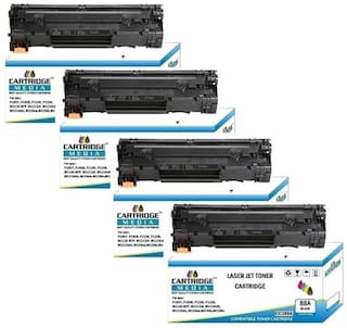 C M CC388A Black CompatIble for HP 88A TONER CARTRIDGE FOR HP Laserjet Printer P1007 P1008 P1106 P1108 M202 M202n M202dw M126nw M128fn M128fw M226dw M226dn M1136 M1213nf M1216nfh M1218nfs (Pack of 4)