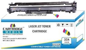 CARTRIDGE MEDIA 32A for HP CF232A Imaging Drum Unit Cartridge Compatible HP Laserjet Printer Pro M203,M206 MFP, M227,M230 (Pack of 1)