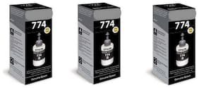 Cartridge Vista Epson Epson T7741 Black Pack of 3 Ink bottle for Compatible with EcoTank Epson T774 / T7741 / M100 / M105 / M200 / M205 / L655