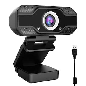 Case U HW2 1080P Webcam with Microphone,HD Webcam Desktop or Laptop, Streaming Webcam