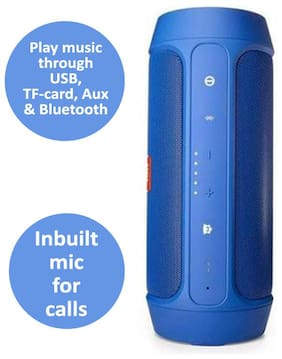 Charge 2 Plus Blue Portable Bluetooth Mobile/Tablet Speaker