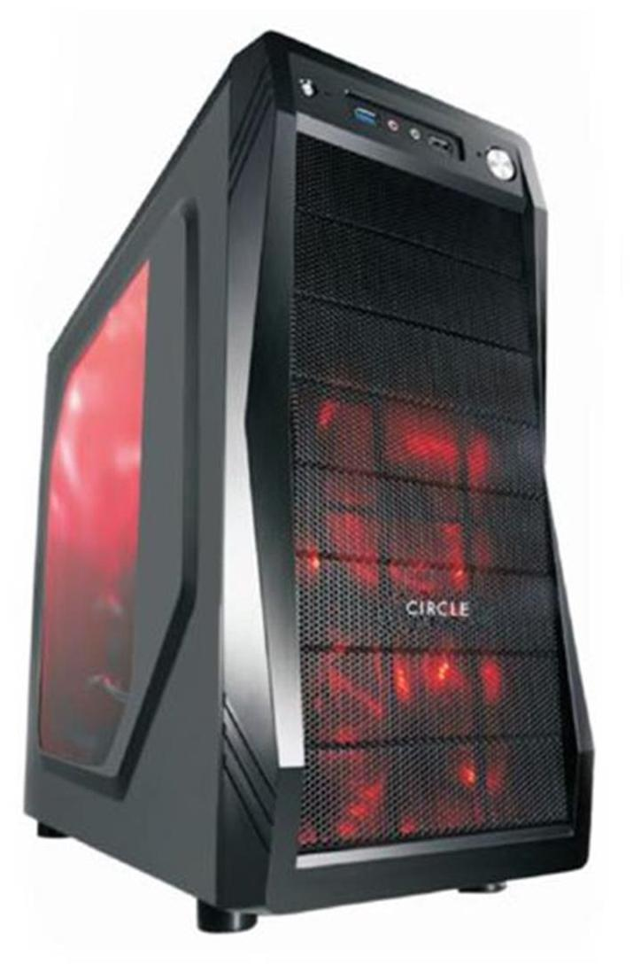 Circle Gaming CPU Cabinet CC 821 Without SMPS