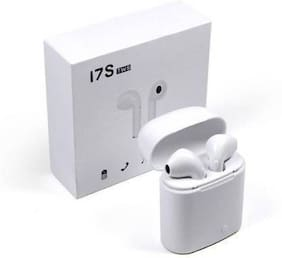 CLERBY In-Ear Bluetooth Headset ( White )