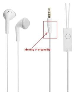 Comaptible Samsung Galaxy S9 In the Earphone / headphone / Handfree /  Headset WIth Mic / 3 5mm Jack(ARR BEE WORLD)