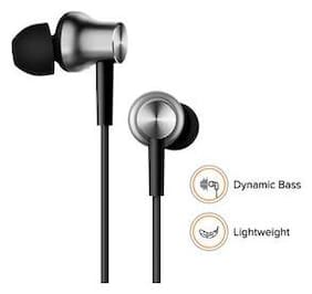Compatible Redmi Mi Note5 Pro / Note5 / Y2 / A1 Earphones Silver With In-Built Mic