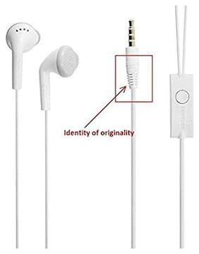 Compatible Samsung Headphones YS Earphone With Mic and For Galaxy J1-J2-J3-J5-J7-J7PRIME-J7NXT S2 -S3-S4-S5-S6-S6 EDGE - S7 -S8 -S8 PLUS and for all other Android Smartphones(White)