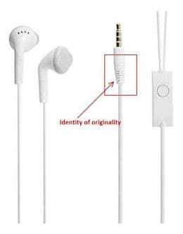 Compatible Samsung Galaxy S8 plus  Classic White color Ear Headphones  With support of 0.3mm jack Andriod for Samsung Galaxy S9 (White)AAR BEE WORLD