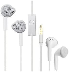Compatible with Samsung Earphone having Extra Bass  Sound Controller and Mic for Lenovo Vibe K5 Note 3GB PHONES