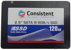 Consistent CTSSD120S3 120 GB 2.5 inch SATA III Internal Solid State Drive