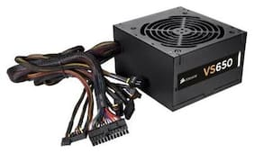 Corsair CP-9020098-WW VS Series VS650 650 Watt Power Supply Unit (Black)
