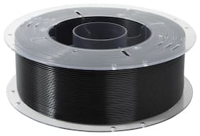 Creality PLA Filament 1.75mm Diameter 330 Mtr Length 1kg Spool Printing Material for 3D Printer & 3D Pen (Black)