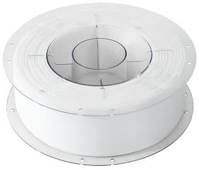 Creality PLA Filament 1.75mm Diameter 330 Mtr Length 1kg Spool Printing Material for 3D Printer & 3D Pen (White)