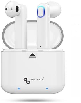 CrossBeats Cb-aero In-ear Bluetooth Headsets ( White )
