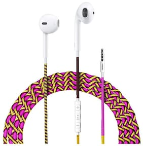 TEXET In-Ear Wired Headphone ( Multi )