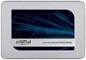 Crucial MX500 1 TB SATA 2.5 inch 7mm (with 9.5mm adapter) SSD (CT1000MX500SSD1)