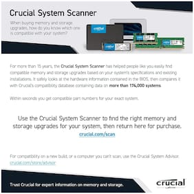 Crucial MX500 500GB SATA 2.5 inch 7mm (with 9.5mm adapter) SSD (CT500MX500SSD1)