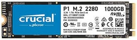 Crucial P1 1000GB 3D NAND NVMe PCIe M.2 SSD (CT1000P1SSD8)