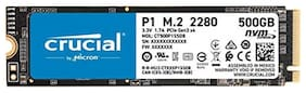 Crucial P1 500GB 3D NAND NVMe PCIe M.2 SSD (CT500P1SSD8)
