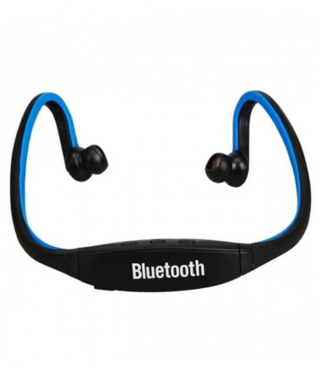 Crystal Digital BS19 Blue  Bluetooth Sports Headset With Mic