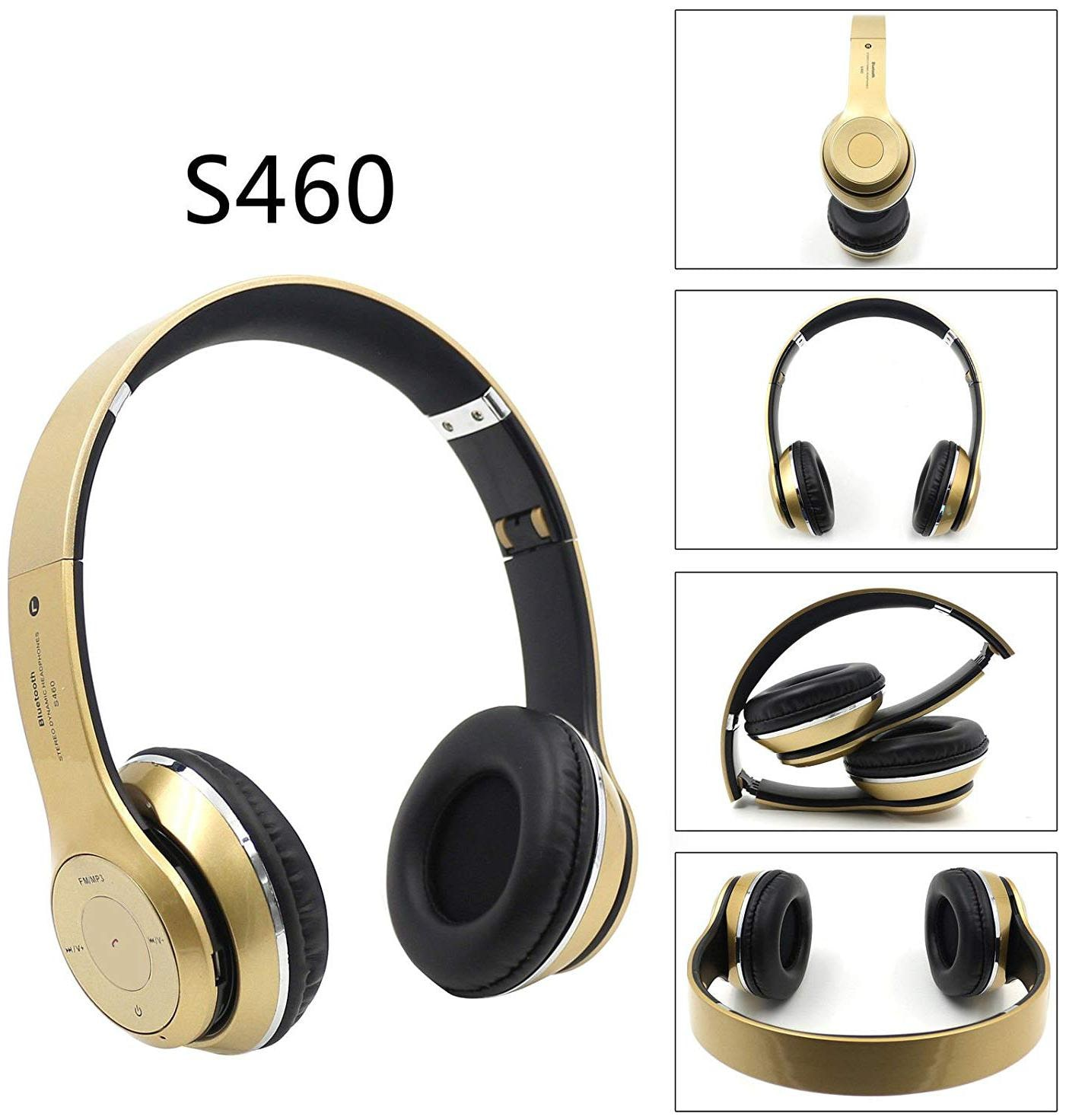 Crystal Digital S460 SPORTS HEADSET Over ear Bluetooth Headsets   Gold