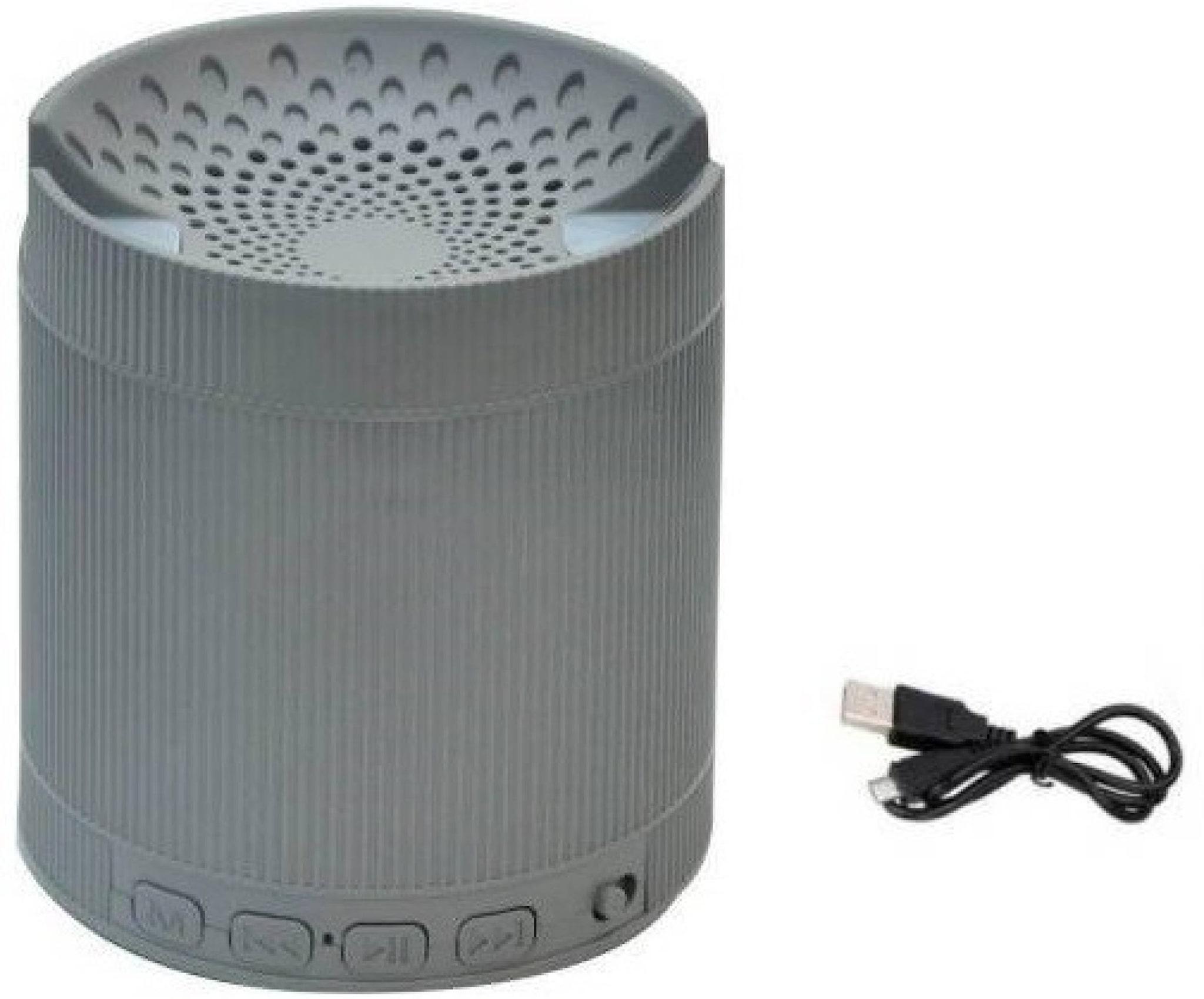 Crystal Digital XQ3 Bluetooth Portable speaker   Grey   by Advance Multimedia