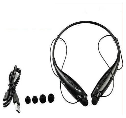 CHG HBS 730 In Ear Bluetooth Headset   Black