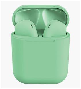 Crystal Digital INPODS_GRN_001 True Wireless Bluetooth Headset ( Green )