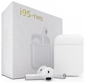 Crystal Digital In-Ear Bluetooth Headset ( White )