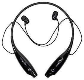 CyberByte Neckband Bluetooth Headset Compatible with all android phones.(Black)