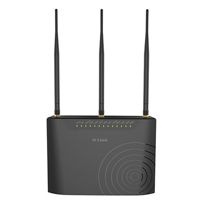 D-Link DSL-2877AL 733 mbps Wi-Fi Modem (Black)