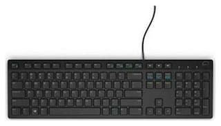Dell Commercial KB216-BK-US Wired Keyboard KB216