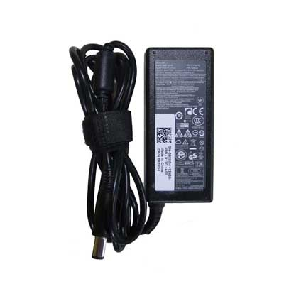 Dell Vostro 65W Laptop Adapter With Lap Gadgets Power Cord (Black)