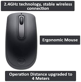 Dell WM118 Wireless Mouse ( Black )
