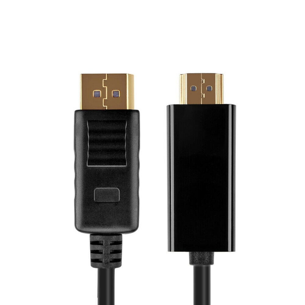 DisplayPort to HDMI Cable DP Display Port to HDMI MM Cord Converter for PC HD TV