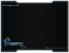 Dragon War GP-001 Gaming Mouse Pad (Black)