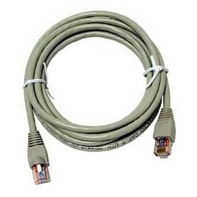 Eagle 50' FT CAT6 Patch Cable Gray Snagless 23 AWG Copper 550 MHz RJ45 Booted