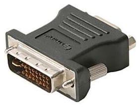 Eagle DVI-A Male to HD15 VGA Female Adapter Gold Pro Grade Video M/F Cable Plug