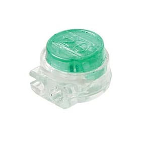 Eagle UG Connector IDC Green Butt Tap Splice 100 Pack Telephone Connector Gel