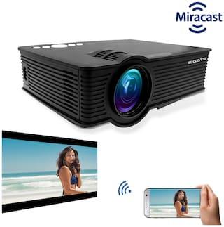 "EGATE I9 Miracast LED HD Projector - HD 1920 X 1080 - HDMI- USB - VGA   3.04 Meter (120"")  Display"