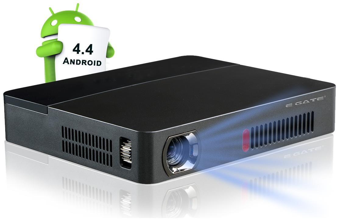 EGate X9 Android Compact DLP 3D Portable Projector