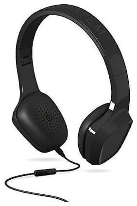 Energy Sistem Energy 1 On-Ear Wired Headphone ( Black )