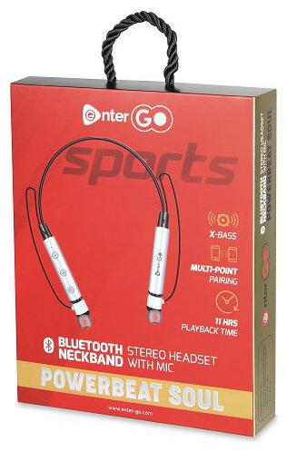 Buy Enter Go Soul In Ear Bluetooth Headset Black Online At Low Prices In India Paytmmall Com