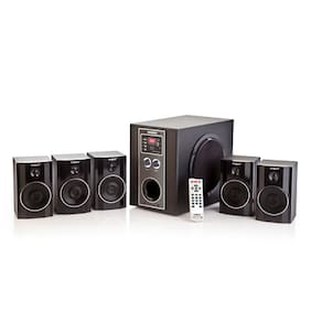 Envent Deejay Rock + 5.1 Channel Bluetooth Home Audio System
