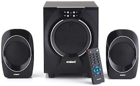 Envent Deejay 310 2.1 Channel Bluetooth Home Audio Speaker  Black