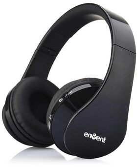 Envent Livefun 540 Wireless Bluetooth Headset With Mic  (Black)