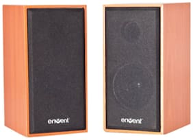 Envent TRUEWOOD 210 2.0 Wired Speaker ( Black )