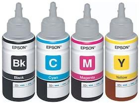 Epson 664Ink Bottles- Set of 4 (Pack of 4)