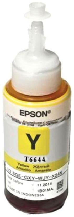 Epson Ink T6644 Yellow Ink (70 ml) For L100/L110/L200/L210/L300/L350/L355/L550 (1 x  Main Unit)
